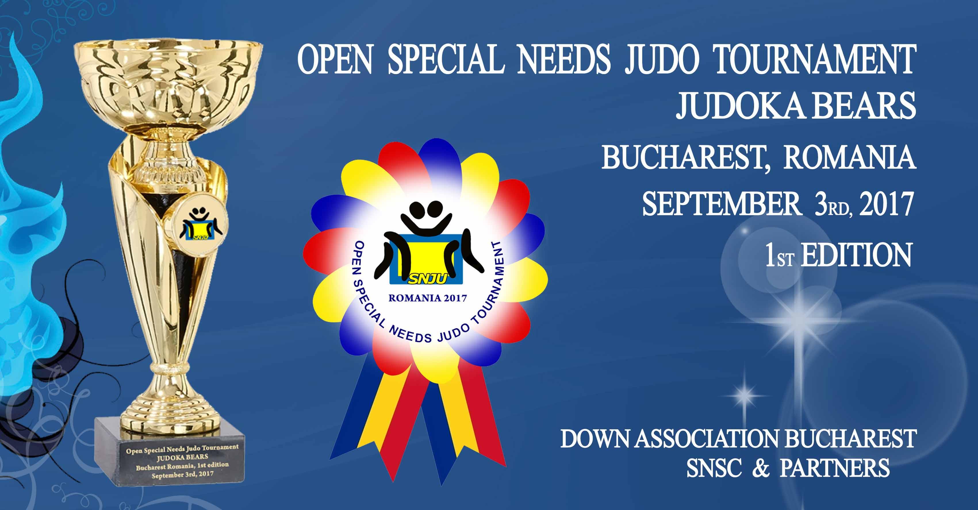 Judoka Bears Open Special Needs Judo Tournament @ Centrul Sportiv Apollo Bucuresti   București   Municipiul București   Romania