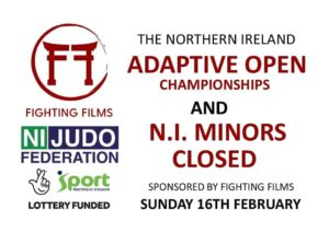 Northern Ireland Adaptive Ope Judo Championships 2020 @ Foyle Arena